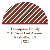 holiday address labels personalized monogrammed gifts
